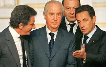Balladur, Sarkozy et Jack Lang