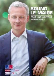 Bruno Le Maire en affiche