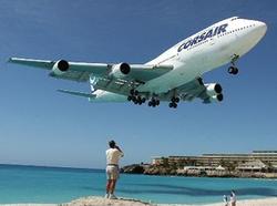 Un avion pour touristes en goguette
