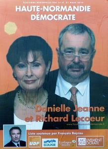 Danielle Jeanne et Richard Lecoeur en affiche !