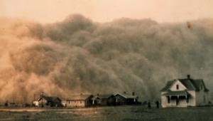 Le nuage de poussière