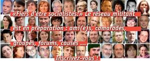 L'espoir à gauche et fiers d'être socialistes aux côtés de Julien Dray ?