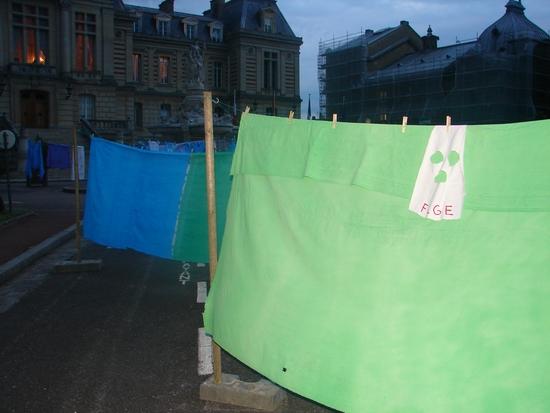 Le Flge s'occupe du linge sale de la Mairie d'Evreux