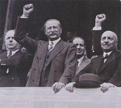 Léon Blum, le 14 juillet 1936