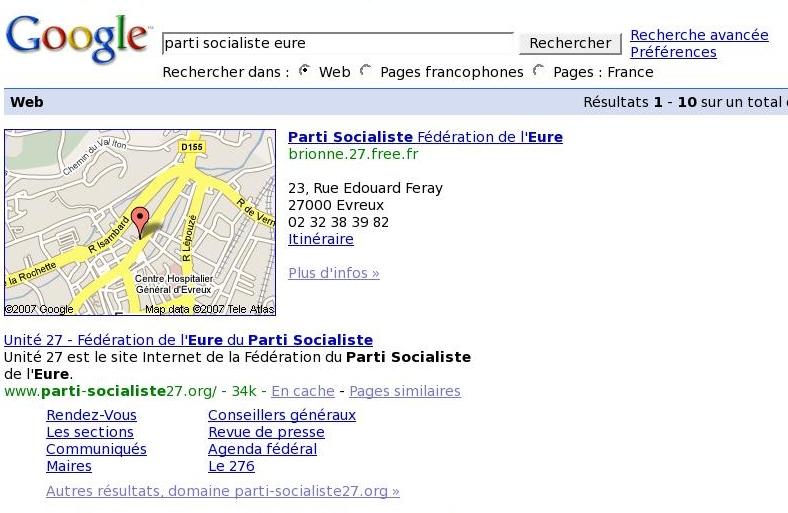 Parti socialiste de l'Eure