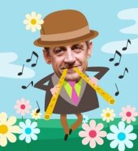 Sarkozy nous joue du pipeau
