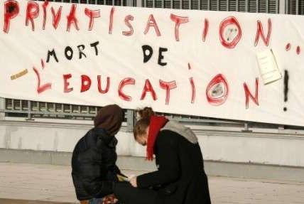 Privatisation=mort de l'éducation ?