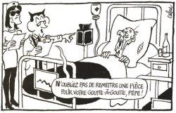 Sarkozy soigne les vieux au goutte à goutte