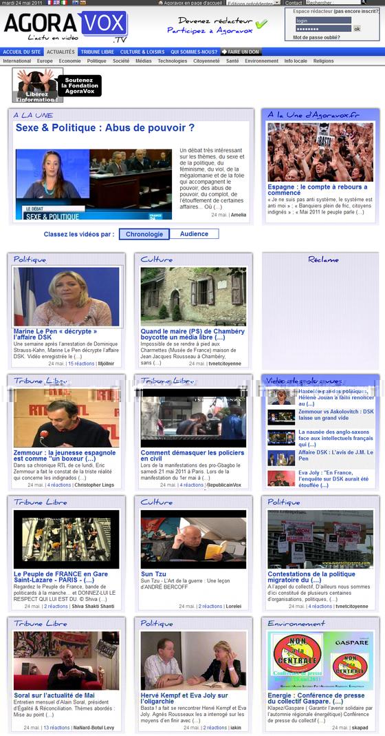 Agoravox.tv, outil de l'extrême-droite et des identitaires