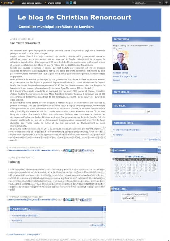 Le blog de Christian Renoncourt