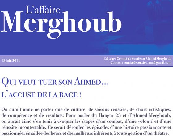 Comité de soutien à Ahmed Merghoub