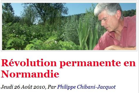 Charles Hervé-Gruyer fait la une de Politis !