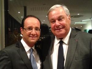 Jean-Louis Destans, candidat du Parti Socialiste sur le canton de Beaumont-le-Roger
