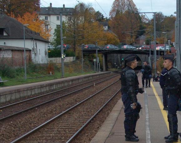 Gare de Bernay le 5/11/2010 à 17 h 10