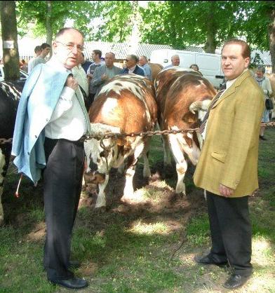 Jean-Pierre Nicolas au cours d'un comice agricole de la 2ème circonscription de l'Eure