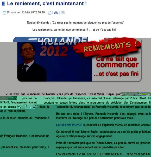 Jean-Pierre Nicolas exige le blocage des prix du carburant à la baisse !?
