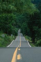 La route est droite...