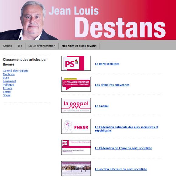 Le blog de Jean-Louis Destans
