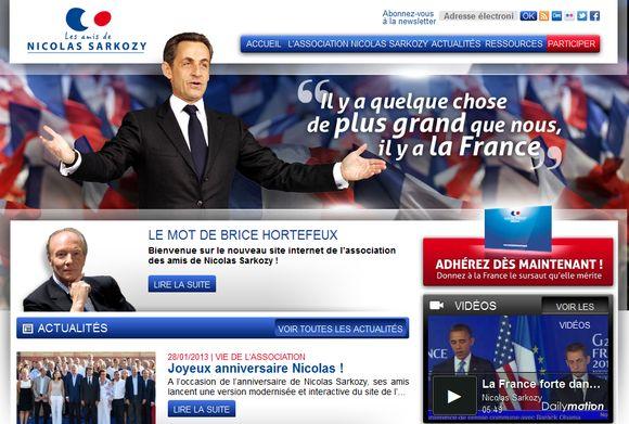 Les amis de Nicolas Sarkozy