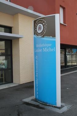 La médiathèque Louise Michel de Brionne