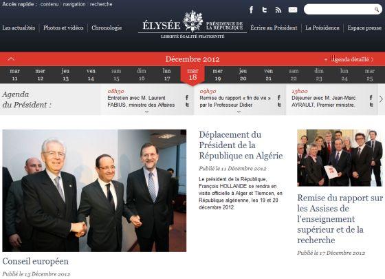 Le choix du CMS SilverStripe pour le site Elysee.fr