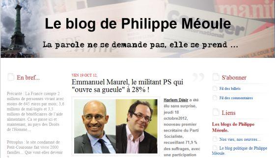 Le blog de Philippe Méoule