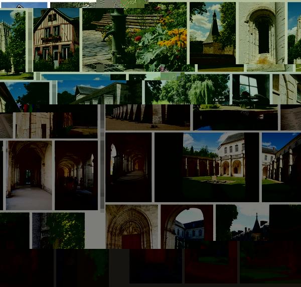Photos de l'abbaye du Bec-Hellouin