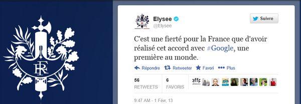 Eric Schmidt a roulé le gouvernement français dans la farine !