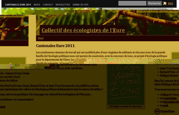 Suivre les écologistes de l'Eure