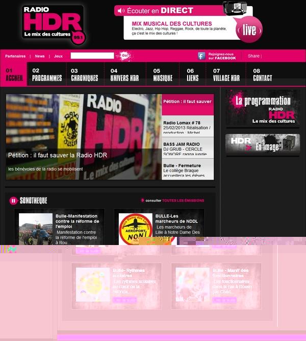 Il faut sauver la radio HDR !