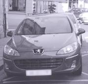 La voiture d'Hervé Maurey, fiancé par la ville de Bernay
